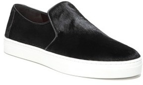 Diane von Furstenberg Women's Budapest Genuine Calf Hair Slip-On Sneaker