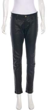 DL1961 Mid-Rise Leather Pants