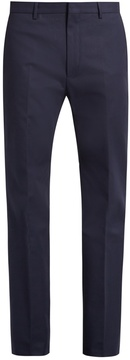 Calvin Klein Collection Spike slim-fit stretch cotton-blend trousers