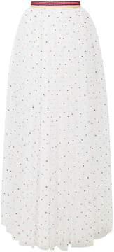 Ermanno Scervino polka dot maxi skirt