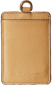 Marc Jacobs Recruit Long Strap Commuter Pass Case Handbags - BLACKBERRY - STYLE
