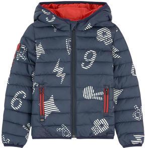 Catimini Printed padded coat