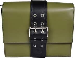 Versace Versus Large Buckled Shoulder Bag