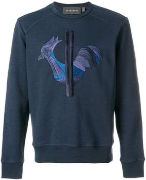 Rossignol embroidered chicken sweatshirt