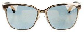 Jimmy Choo Mirrored Oversize Sunglasses w/ Tags