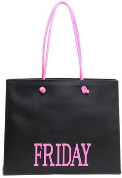 Alberta Ferretti Rainbow Week Shopping Bag