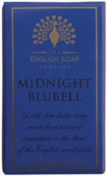 Smallflower Midnight Bluebell Soap by The English Soap Company (200g Soap)