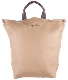 Repetto Large Leather Tote