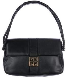 Givenchy Leather Logo Shoulder Bag