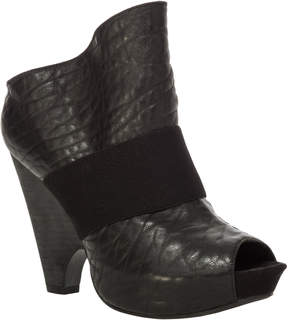 Max Studio Noble - Textured Leather Open-Toe Booties