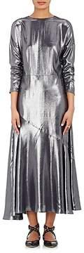 Cédric Charlier Women's Lamé A-Line Dress