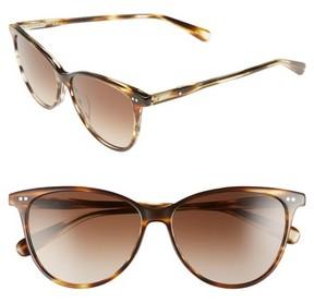 Bobbi Brown Women's The Patton 55Mm Gradient Cat Eye Sunglasses - Bronze/ Havana