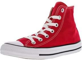 Converse M9621C-120 Unisex Chuck Taylor All Star Hi-Top Shoes, Red, 12 M US Men / 14 M US Women