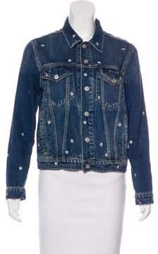 Amo Embroidered Denim Jacket