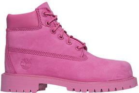 Timberland Girls' Preschool 6 Inch Classic Premium Boots