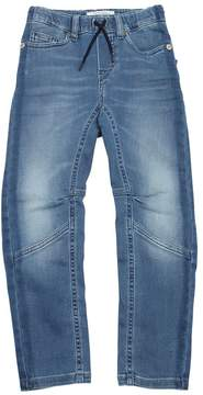 John Galliano Denim Effect Cotton Sweatpants