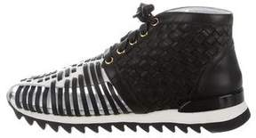 Balmain Mawi High-Top Sneakers