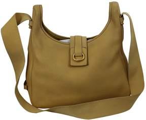 Hermes Tsako leather handbag - BEIGE - STYLE