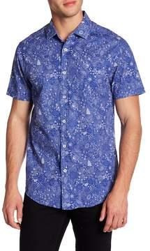 Report Collection Ocean Print Regular Fit Shirt