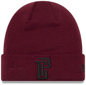New Era Detroit Pistons Fall Time Cuff Knit Hat