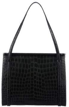 Cartier Alligator Shoulder Bag