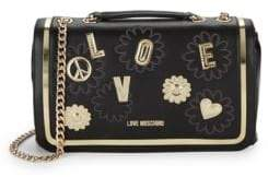 Love Moschino Peace Love Shoulder Bag