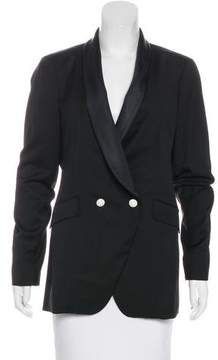 Band Of Outsiders Virgin Wool Double-Breasted Jacket