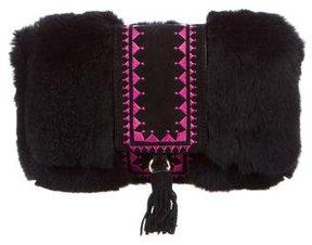 Glamourpuss Fur Zhivago Bag w/ Tags