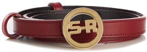 Sonia Rykiel Logo leather belt