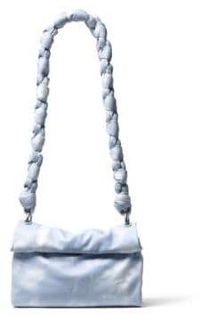 Michael Kors Kiki Leather Shoulder Bag - ARCTIC - STYLE