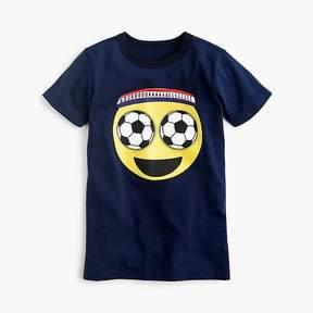 J.Crew Boys' soccer-eyes emoji T-shirt