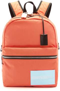 Calvin Klein Logo-patch nylon backpack