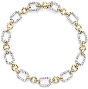 Bloomingdale's Diamond Link Bracelet in 14K Yellow and White Gold, 1.0 ct. t.w.