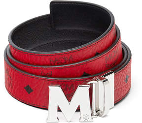 MCM Claus Reversible Belt 1.5 In Visetos