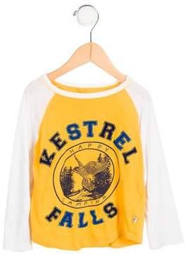Stella McCartney Boys' Happy Camping Graphic Shirt