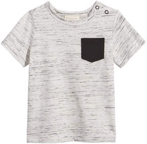 First Impressions Space-Dyed Cotton T-Shirt, Baby Boys (0-24 months), Created for Macy's