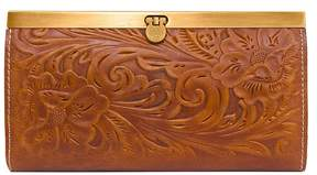 Patricia Nash Tooled Floral-Embossed Cauchy Wallet