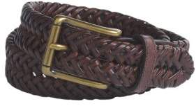 Lord & Taylor Braided Leather Belt
