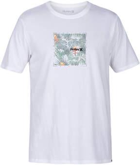 Hurley Men's Golden Floral Logo-Print T-Shirt