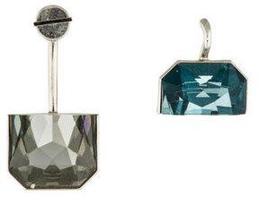 Christian Dior Crystal Set Earrings