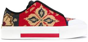 Alexander McQueen low cut lace up sneaker
