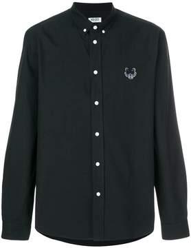 Kenzo tiger crest twill buttondown shirt