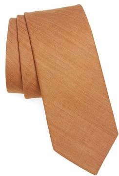 1901 Men's Abbey Solid Cotton Tie