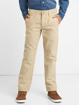 Gap Everyday Pants in Linen-Cotton