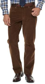 Croft & Barrow Men's Classic-Fit 5-Pocket Stretch Corduroy Pants