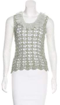 Rodarte Knit Macramé Sweater w/ Tags