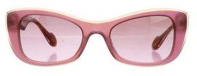 Miu Miu Two-Tone Gradient Sunglasses