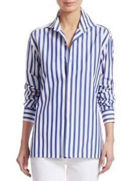 Ralph Lauren Collection Iconic Capri Striped Cotton Shirt