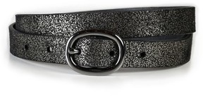 Paige Women's Kelsey Metallic Suede Belt