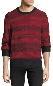Burberry Ceramic Fair Isle Cashmere Sweater